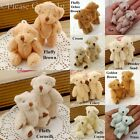 10 to 50 Mini Teddy Bear Party Favours 60mm
