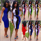Women's Celeb Club Sleeveless Polyester Bodycon Going Out Party Evening Dresses