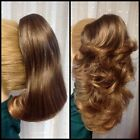 IRINA NATURAL COLLECTION clip-on ponytail REVERSIBLE BLONDE BROWN RED BLACK