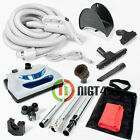35ft Electric Central Vacuum Kit w/Power Head, Hose & Tools Beam Nutone Kenmore