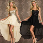 Ladies Party Evening Dress Club Wear Mini Midi Maxi Long Bodycon Peplum Dress