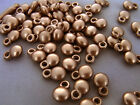 6X9mm 20 / 50 / 100grams  OPAQUE ROSY GOLD COLOR ACRYLIC CHARM BEADS AB17636