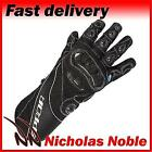 SPADA CORSA RD Black ARMOURED LEATHER SPORTS RACING MOTORCYCLE GLOVES