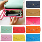 10 colors Ladies Crown Purse Wallet Clutch & Smart Pouch Case for iPhone 4S & 5