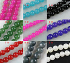 60pcs Stone Loose Beads 9colors-1 8mm