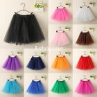 New Ladies Girls Women Adult Tutu Skirts Pettiskirt Mini Fancy Dress Party