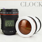 Camera Lens Alarm LED Clock with Projector Lamp Star Twilight Projection 8020