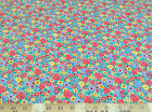 Discount Fabric Quilting Cotton Multi-Colored Floral 036CT