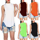 Sexy Women Ladies Sleeveless Summer Loose Casual Shirt Tank Tops Vest Blouse