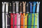 "STAR LACE zip (zipper) - 24cm (10"") - choose from 20 colours"