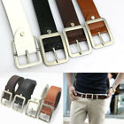 New Fashion Men's Casual Dress Faux Leather Belt Buckle Waist Strap Belts