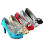 Glamour Damen Pumps High Heels 95839 Strass Abend Schuhe 36-41