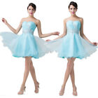 ❤ CHEAPEST ❤ Short Strapless Prom Cocktail Evening Party Homecoming Gown Dress