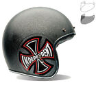 Bell Custom 500 SE Indy Open Face Scooter Helmet & Optional Flip Visor Bobber