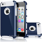 Luxury Matte Rugged Rubber Hybrid Protective Shell Hard Case Cover For iPhone 5C
