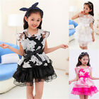 New Fashion Girls dress costume Summer Princess Party Clothes dance Wear Dress