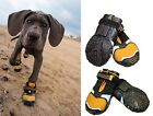 Kurgo STEP N STROBE DOG SHOES Rugged Durable Running Boots w LIGHT UP SOLES