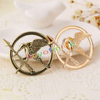 Fashion Women Game of Hunger Ridicule Birds Broochs Golden/Bronze Plated