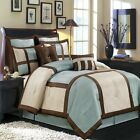 Morgan Luxury 8PC Comforter Set, Includes Comforter, Skirt, Shams and Pillows