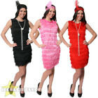 LADIES FRINGE FLAPPER DRESS HEADPIECE 20S 30S GREAT GATSBY FANCY DRESS COSTUME