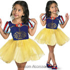 CK494 Snow White Ballerina Fairytale Disney Girls Book Week Fancy Dress Costume