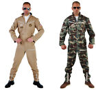 """Jet Fighter / Army / Aviator Jump suits - 36-50"""" chest"""