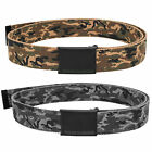 URBAN CLASSICS CAMO CANVAS BELT BELT FABRIC BELT ARMY MILITARY CAMO