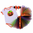 Baby Girls Halloween Pumpkin Tulle Easter Costumes Cosplay Dresses-Up For 3-18M