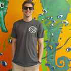 Pacific Wave Surf Club Fitted T-Shirt Men's Charcoal
