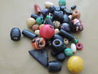 6-24mm 30/50/100/200grams ASSORTED COLORS / SHAPES WOOD BEAD MIXED CC4581W