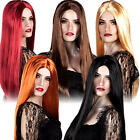 Long Witch Wig Ladies Fancy Dress Halloween Witches Womens Adult Costume Wigs