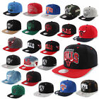 MITCHELL & NESS AND SNAPBACK CAP CHICAGO BULLS NETS KINGS CELTICS MAGIC HEAT UVM