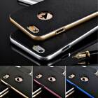 New For iPhone 5 6 Plus Slim Hybrid Shockproof Hard Bumper Soft TPU Case Cover