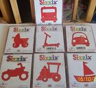 PACK 15 CARD SHAPES  TRANSPORTATION CARS BUS SCOOTER DIE CUTTER NOT 4 SALE
