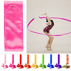 4M 8 Colors Gym Dance Ribbon Streamer Baton Twirling Rod Rhythmic Art Gymnastic