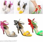 Womens Fashion Sexy bowknot High Heels Celebrity Shoes Butterfly Sandals