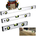 BUILDERS SPIRIT LEVEL 30m 40cm 60cm HORIZONTAL VERTICAL DIY HOME BOX SECTION SET