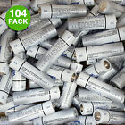 104-pack: GV Extra Long Lasting Super Heavy Duty Batteries - AA or AAA