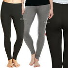 Ladies Ex M&S Heatgen Thermal Leggings Sizes 6-24 Black Grey