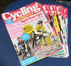 CYCLING WEEKLY MAGAZINE 2014 VARIOUS ISSUES