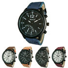 Ca  Us Sports Military Watches For Mens 5 Colors Pu Leather Band Display Cheap