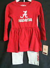University of Alabama Two Piece Toddler Long Sleeve Outfit