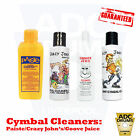Cymbal Cleaner: Paiste Groove Juice/Crazy John's/Groove Juice (Mean/Brilliant)