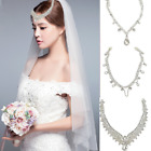 Lady Forehead Band Hair Chain Jewelry Headpiece Dangle Rhinestone Wedding Bridal