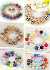 Wholesale Hot Sell 6Pairs Mixed Cute Beads Multicolour Double Side Stud Earrings