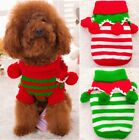 Christmas Pet Dog Wool Ball Turtleneck Sweater Knitted Winter Cute Clothes