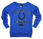 NFL Juniors Indianapolis Colts Flashdance Off The Shoulder Sweatshirt,Royal Blue $29.99 USD on eBay