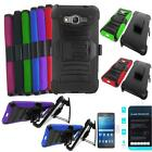Phone Case For Samsung Galaxy Grand Prime LTE S920C Holster Cover Tempered Glass