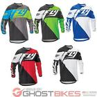 Fly Racing 2016 F-16 Motocross Jersey MX Off Road Mesh Panels Shorty Cuffs Shirt