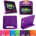 Kids Safe Foam Shock Proof Cover Case Handle Stand For Kindle Fire HD HDX Tablet